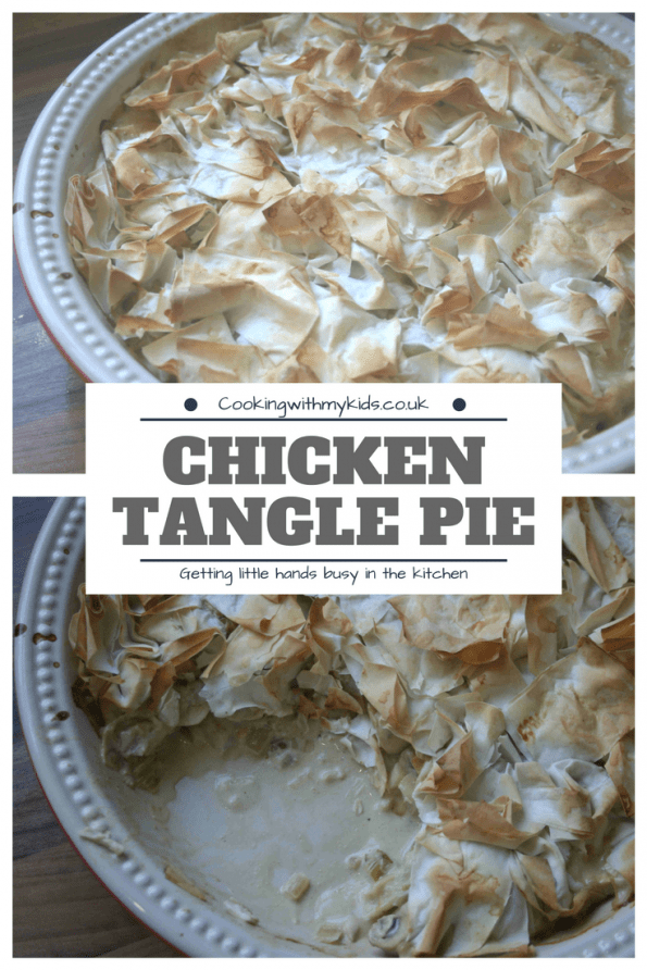 chicken and ham tangle pie