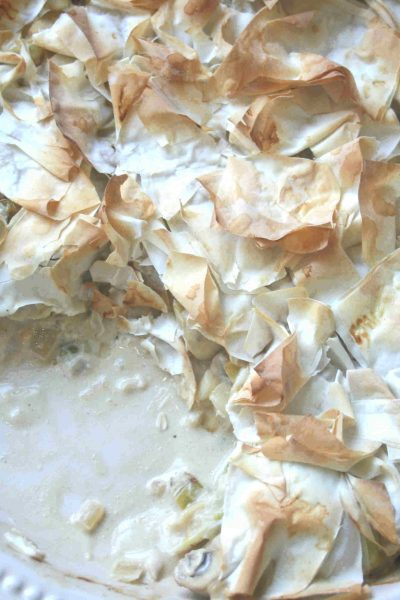 chicken tangle pie