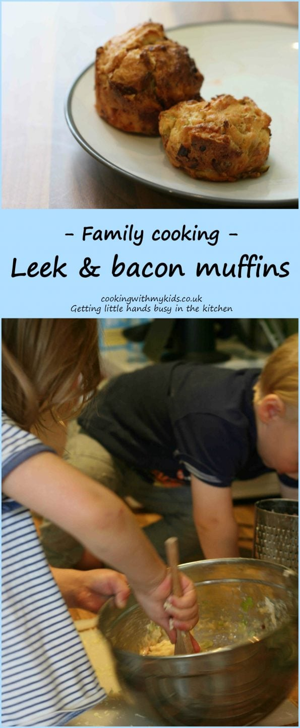 leek and bacon muffins