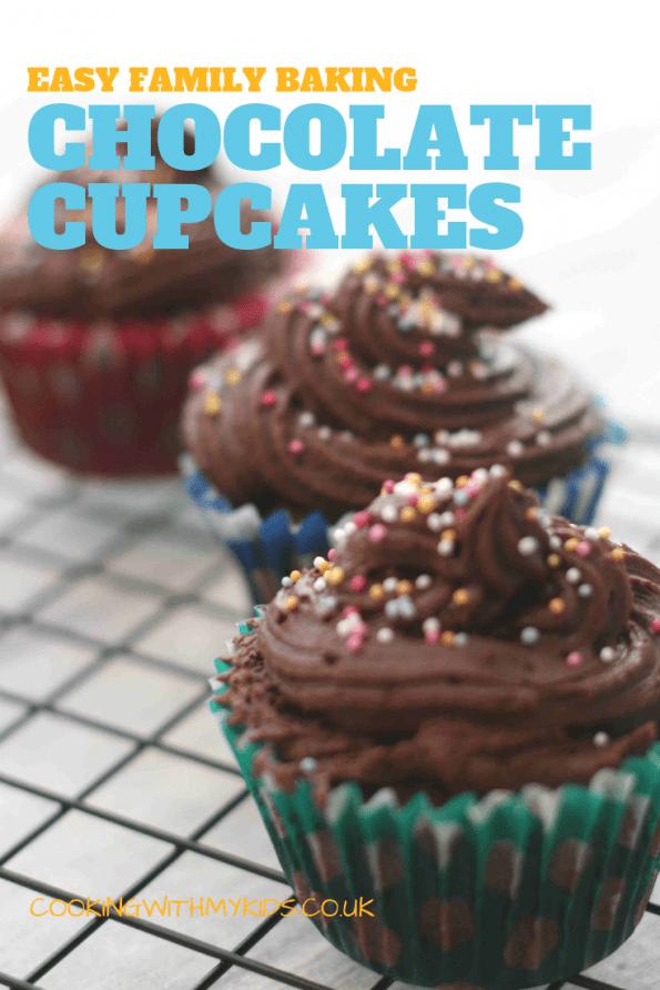 easy chocolate cupcakes