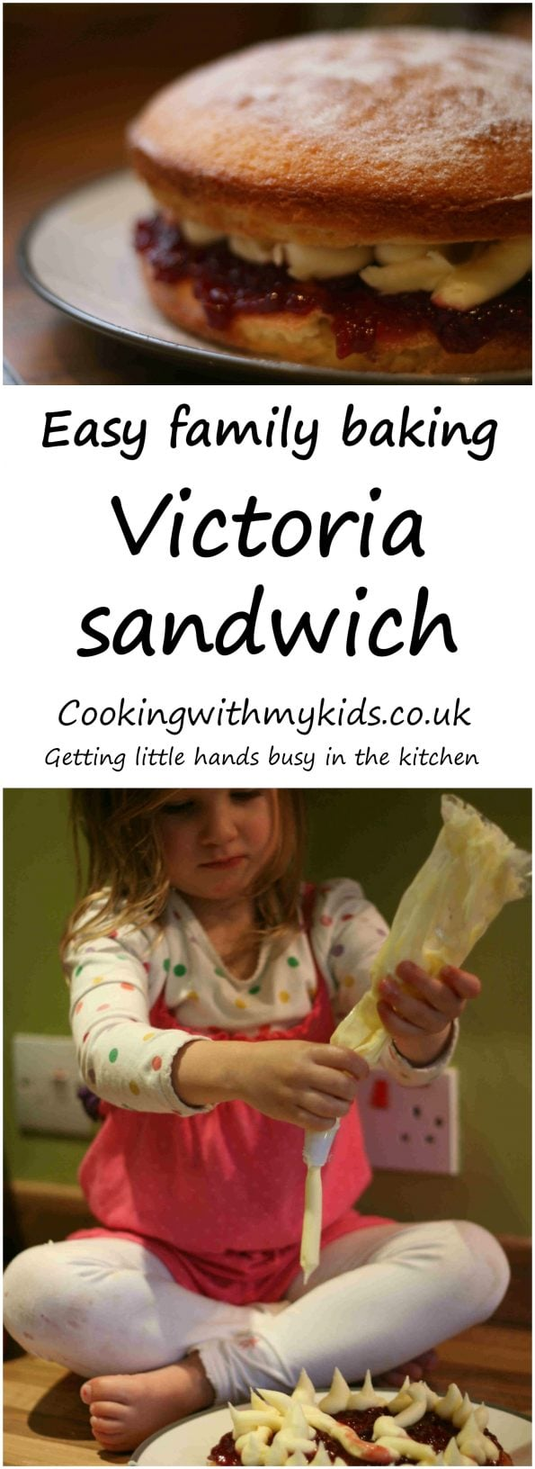 victoria sponge recipe with buttercream
