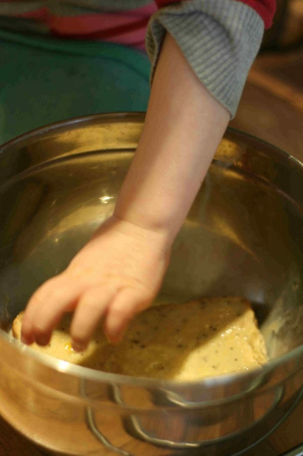 making eggy bread