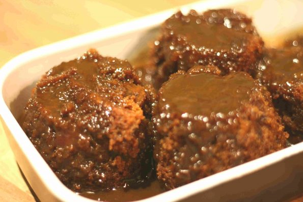 easy sticky toffee pudding