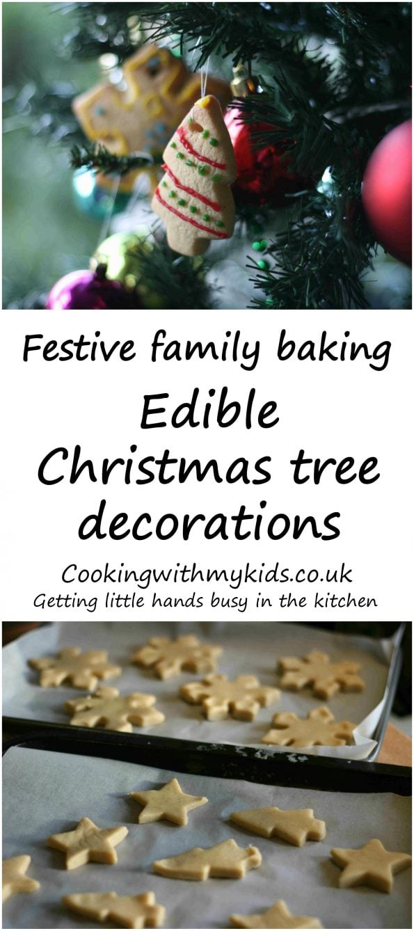 Edible Christmas tree decorations