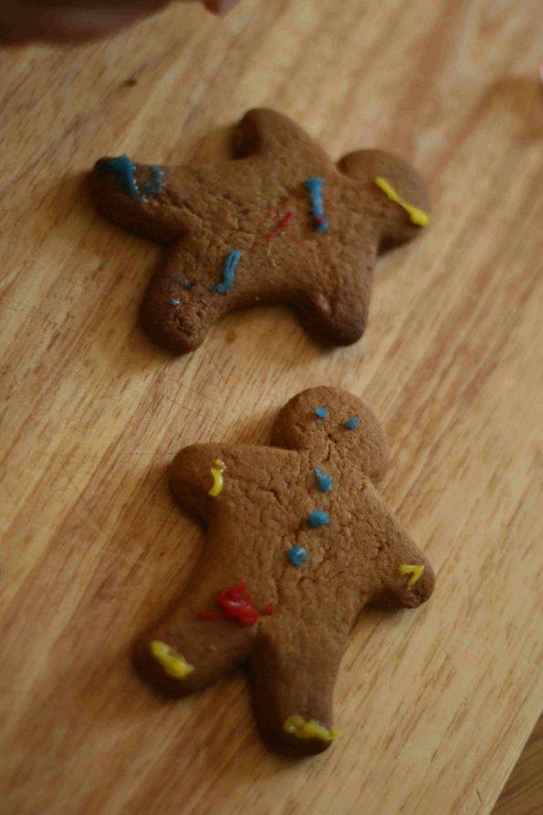 easy gingerbread men recipe for kids