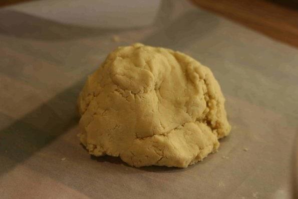shortbread dough