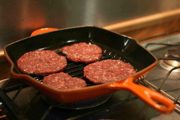 easy homemade burgers
