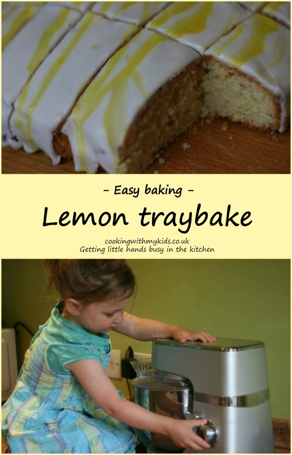 iced lemon traybake (Mary berry)