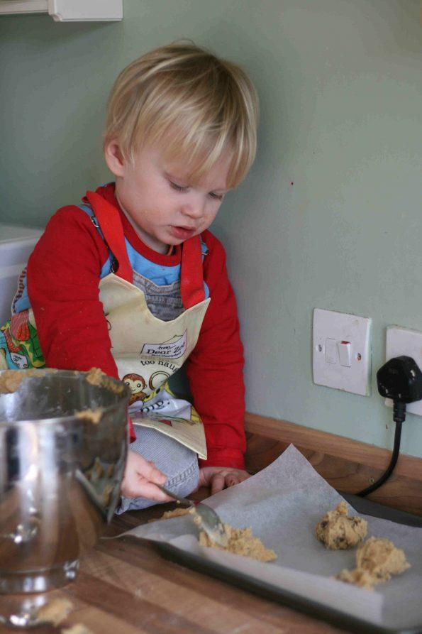 making bear paw cookies
