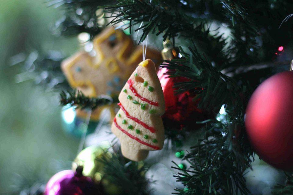super simple christmas tree decorations