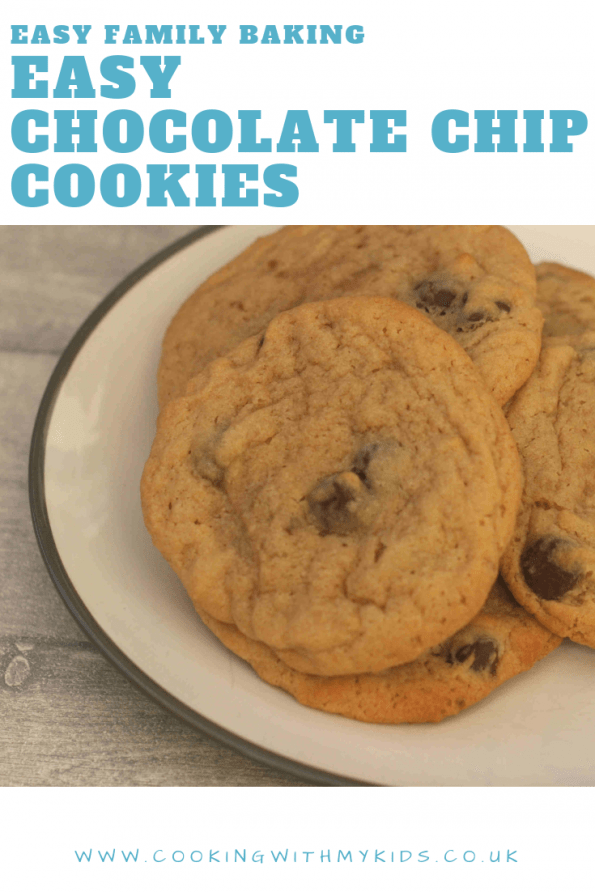 soft and chewy chocolate chip cookies on a plate