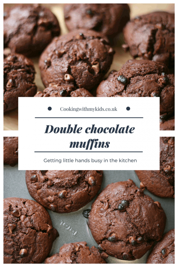 double chocolate chip muffins (UK)