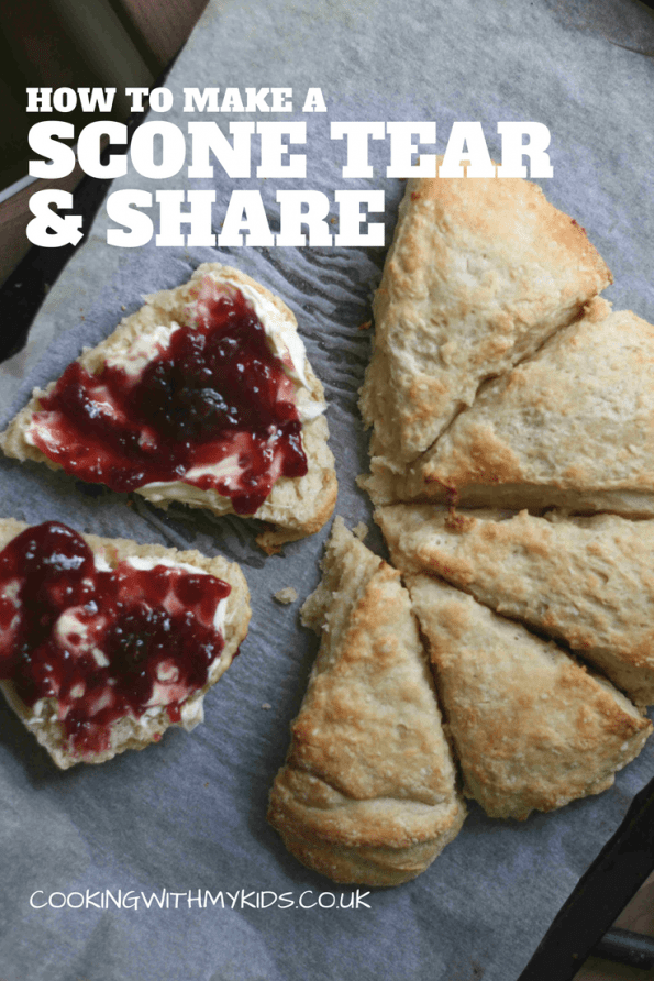 SCONE TEAR AND SHARE 1