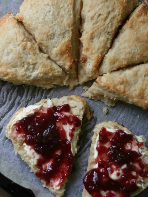 tear and share buttermilk scones 12