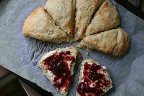 tear and share buttermilk scone