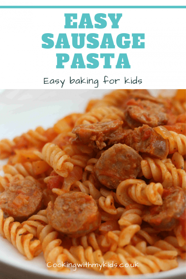 easy sausage pasta for toddlers