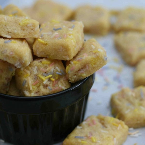Shortbread funfetti bites