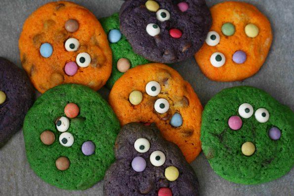 Halloween monster cookie