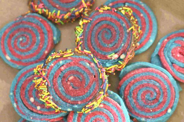 Catherine wheel biscuits