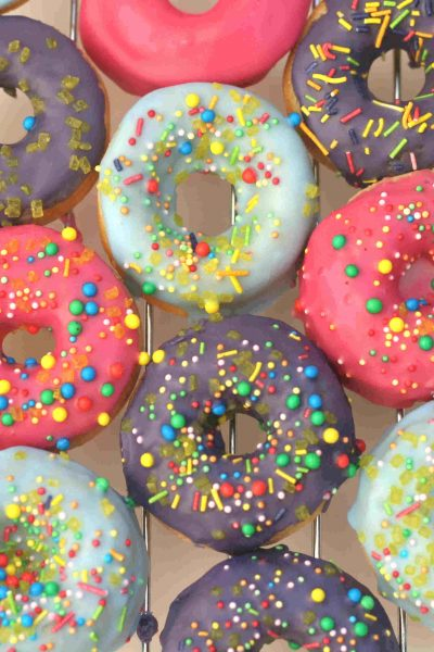 Baked donuts (without yeast)
