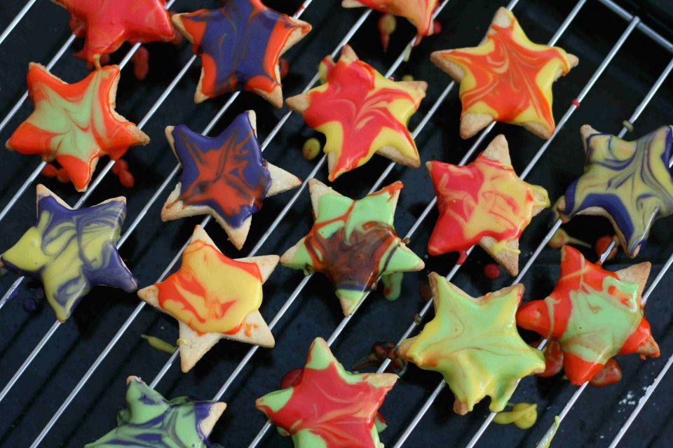 Fireworks biscuits