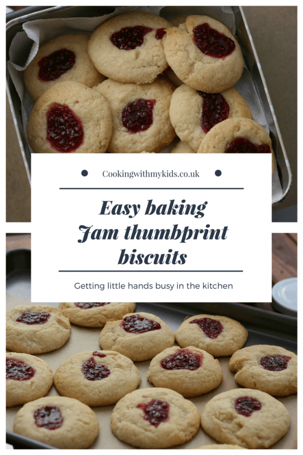 Jam thumbprint biscuits