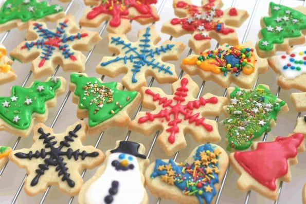 Christmas Sugar Cookies.Christmas Sugar Cookies