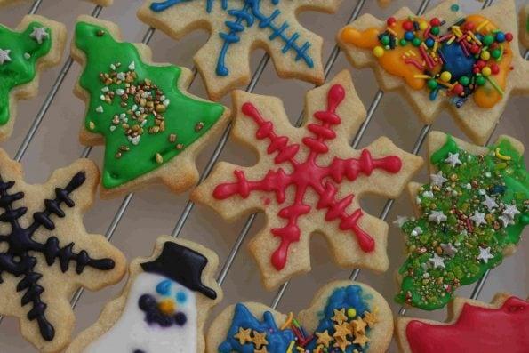 christmas sugar cookies