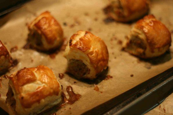 easy homemade sausage rolls