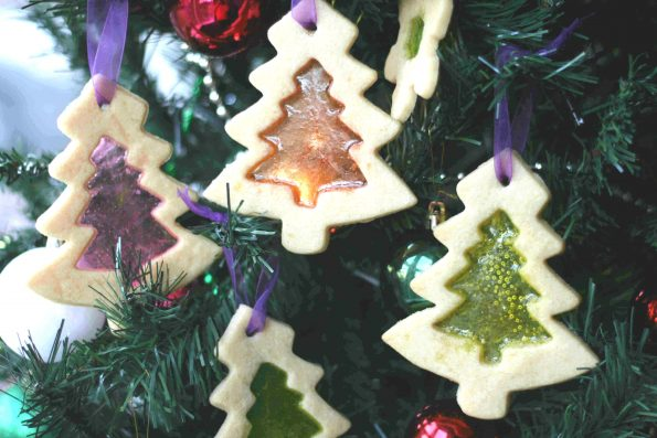 stained glass biscuits: christmas baking for kids