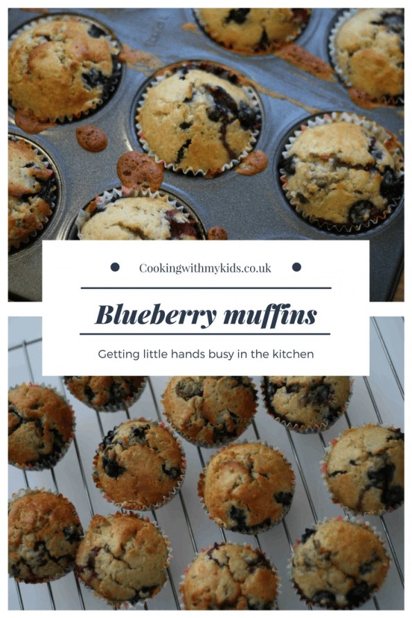 Mary Berry blueberry muffins