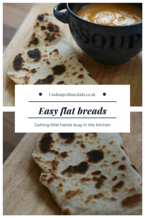 3 ingredient flatbread