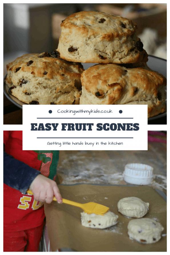 Fruit scone recipe