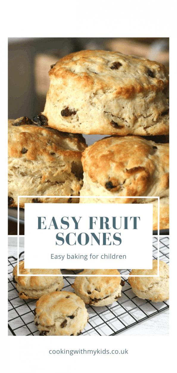 easy fruit scone recipe
