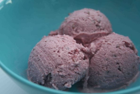 berry icecream