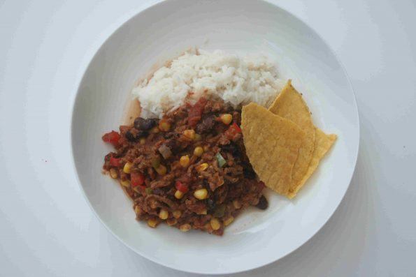 child friendly chilli con carne