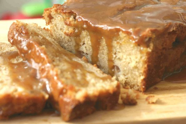 caramel apple loaf