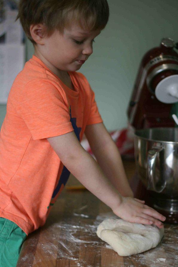 making easy breadsticks