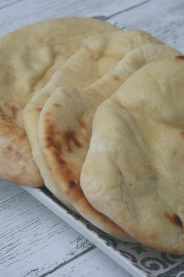 Easy naan bread
