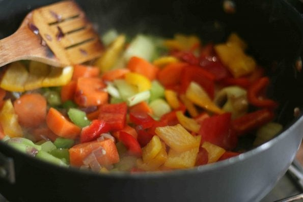 Healthy vegetables - cooking with kids