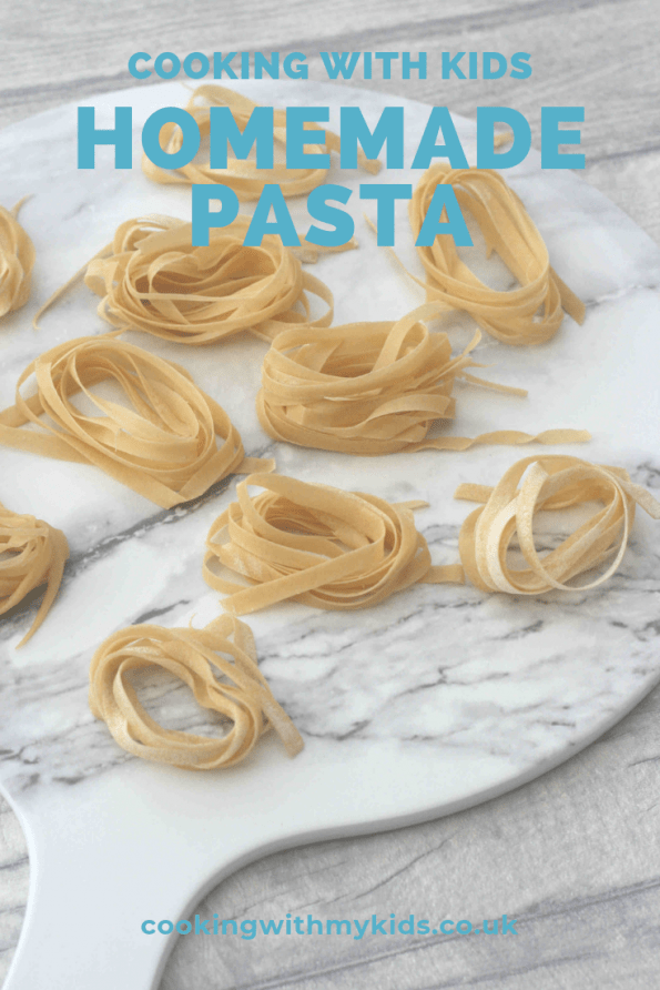 homemade pasta on a plate