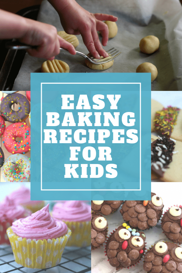 Easy baking recipes for toddlers and kids