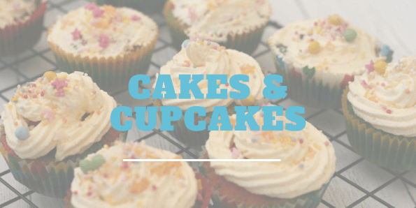 Easy cakes and cupcakes for kids