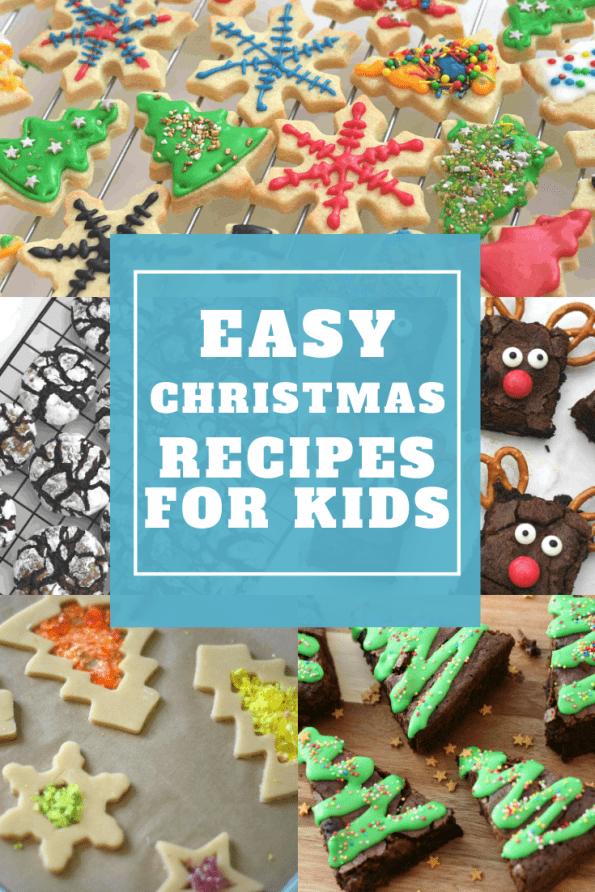 Christmas baking for kids