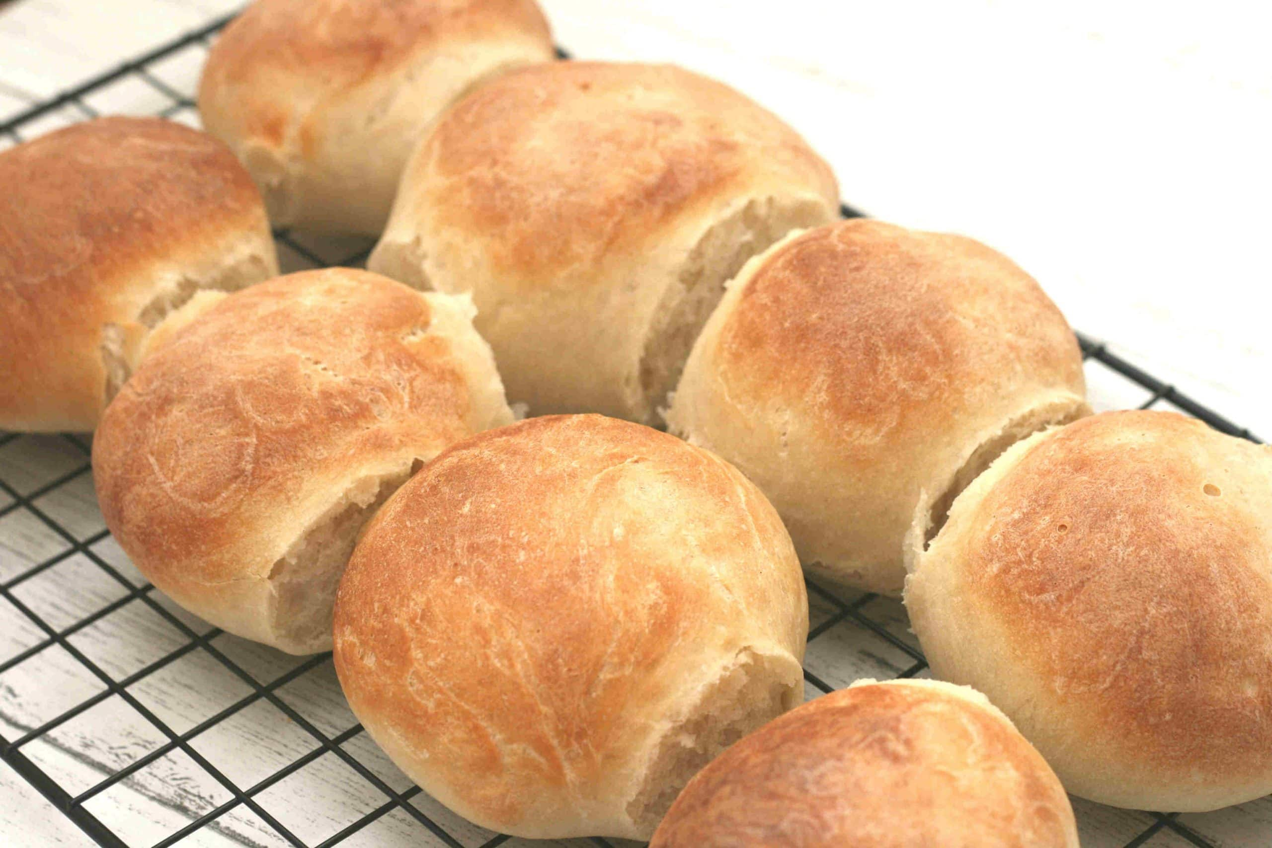 Easy soft bread rolls recipe | Cooking with my kids