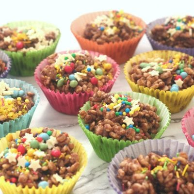 chocolate rice crispies