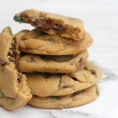 Nutella stuffed cookies