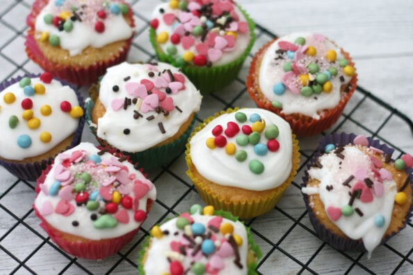Easy Mary Berry Fairy Cakes Recipe Cooking With My Kids