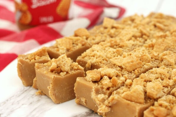 Biscoff fudge