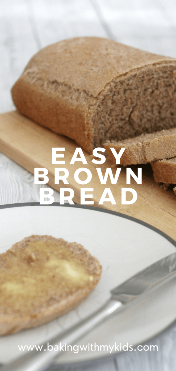 brown bread graphic with a text overlay.
